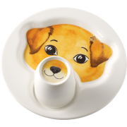 Villeroy&Boch - Animal Friends - Talerz z kubkiem pies