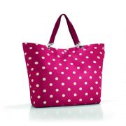 Reisenthel - Torba shopper XL ruby dots 35l