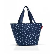 Reisenthel - Torba shopper M spots navy 15l