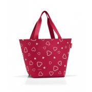 Reisenthel - Torba shopper M hearts 15l